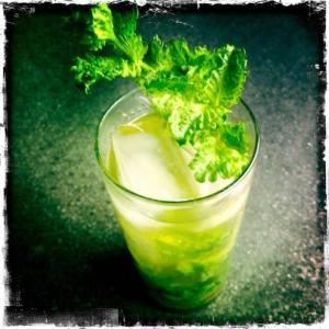 Green Tea Bourbon Cooler (Meemaw's Mojito)