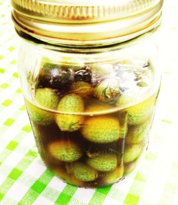 Tequila-Pickled Gherkins